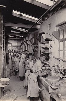 1930s Pottery works  at Burleigh Pottery Staffordshire see history on link and their modern productions