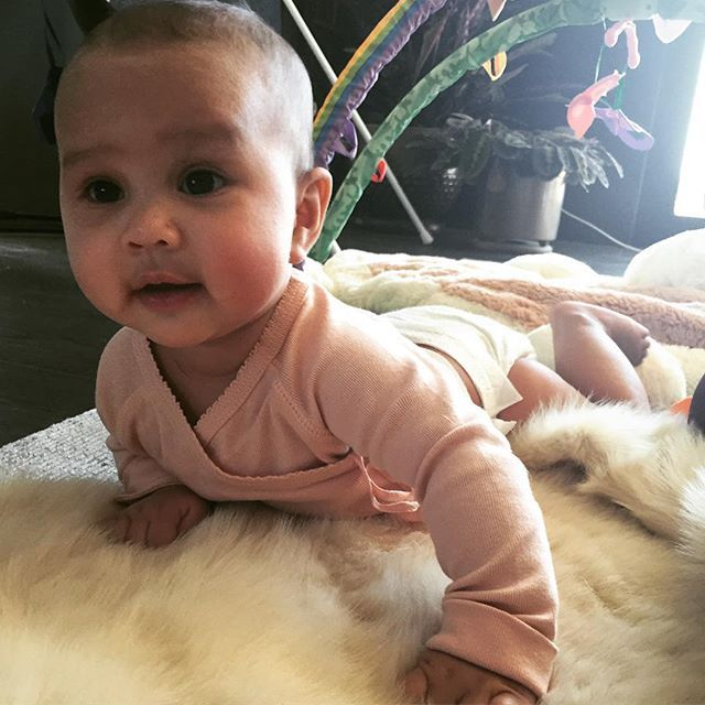 Pin for Later: We've Already Been Spoiled With Snaps of John Legend and Chrissy Teigen's Daughter
