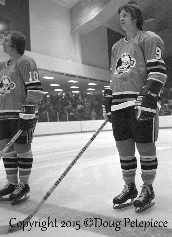 #CornwallRoyalsAlumni Cornwall Royals Gary MacGregor played for Ottawa Civics WHA 1976