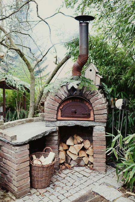 The 25 best outdoor pizza ovens ideas on pinterest for Outdoor oven diy