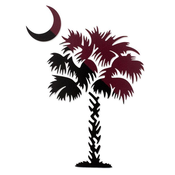 Sc Flag Tattoos: South Carolina Palmetto Tree Decal