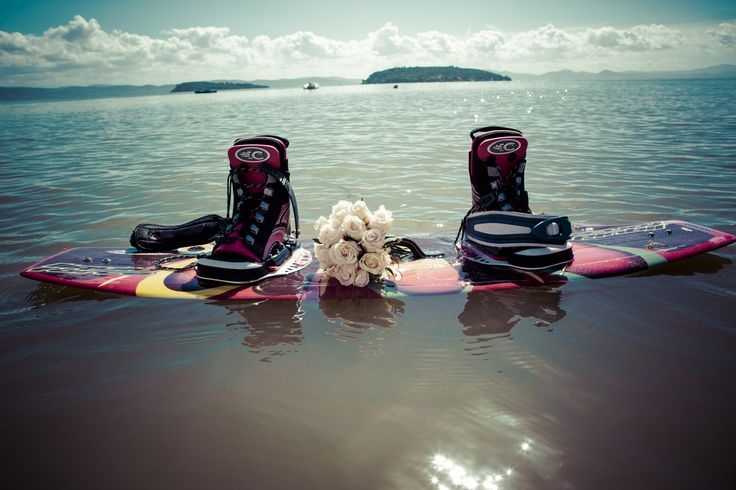 Amazing wedding in Tuscany on the wakeboard