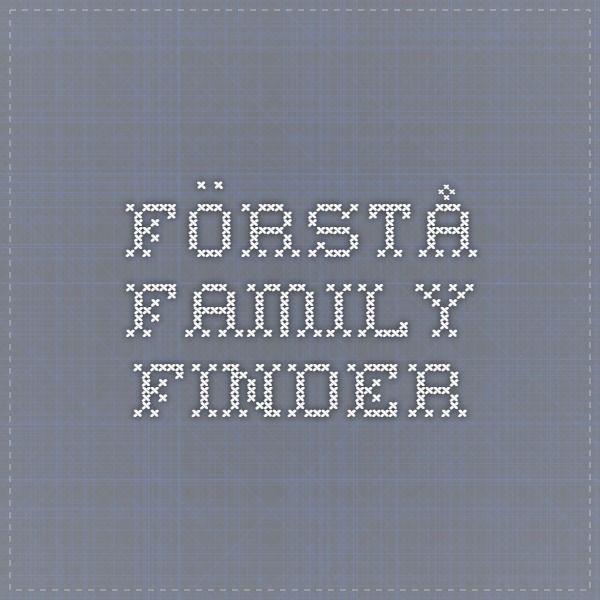 Förstå Family Finder