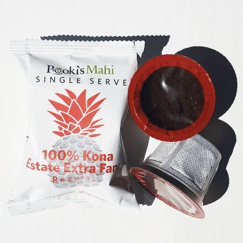 Pooki's Mahi® 100% Kona Coffee Estate Extra Fancy pod for Single Serve Coffee Makers, 72 Count | Jet.com
