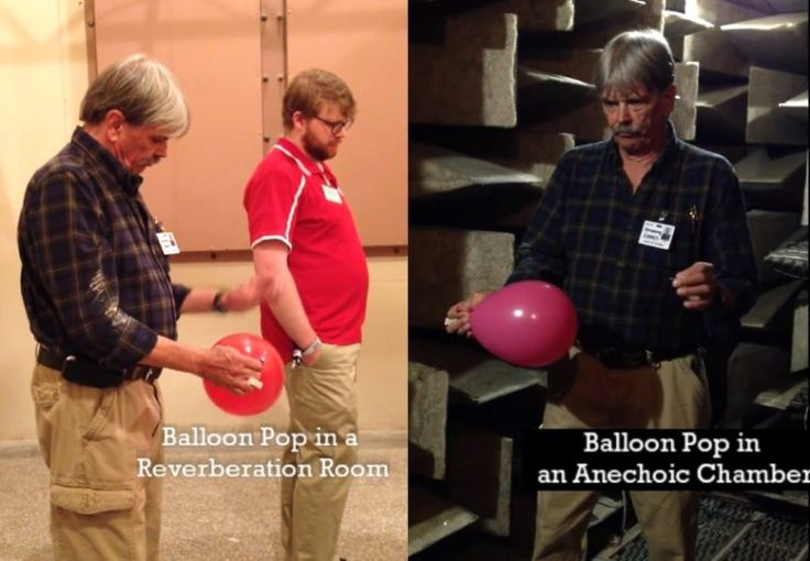 Cuarto de reverberación vs. Cámara anecoica: El sonido de un globo al reventar - https://www.vexsoluciones.com/noticias/cuarto-de-reverberacion-vs-camara-anecoica-el-sonido-de-un-globo-al-reventar/
