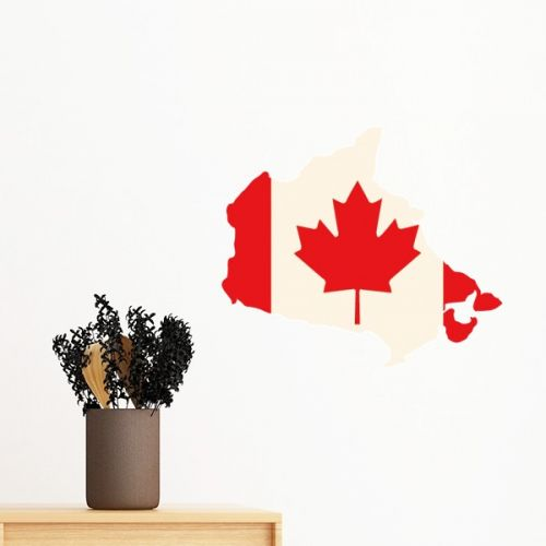 Red Maple Leaf Symbol Canada Country Flag Removable Wall Sticker Art Decals Mural DIY Wallpaper for Room Decal #Wallsticker #Red #Wallpaper #MapleLeaf #Decoration #Symbol #Walldecor #Canada #Homedecor #Country #Stickers #Flag #Poster #DIY #Decorationsforhome #Wallart