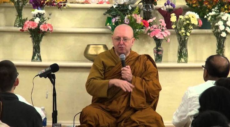 Ajahn Brahm: Samatha and Vipassana meditations. Meditation retreat in To...