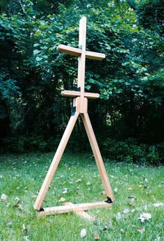 The Good German Armor Stand: How to Make a Portable, Folding Wood Armor Stand in Less Than Three Hours