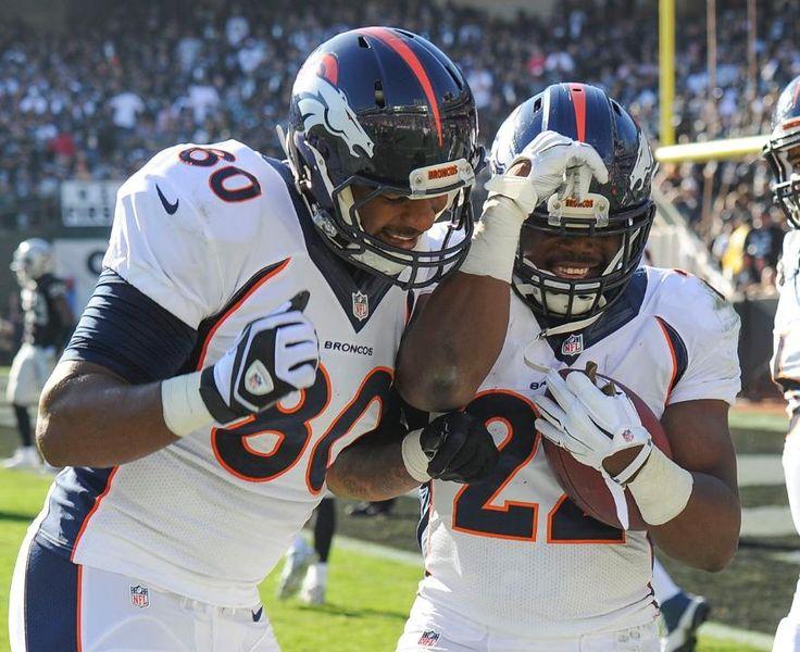 Julius Thomas and C.J. Anderson - Broncos vs Raiders (11/9/14)