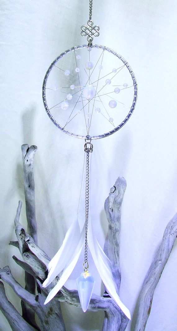 Opaline cristal Dream Catcher Tenture murale par TigerEmporium
