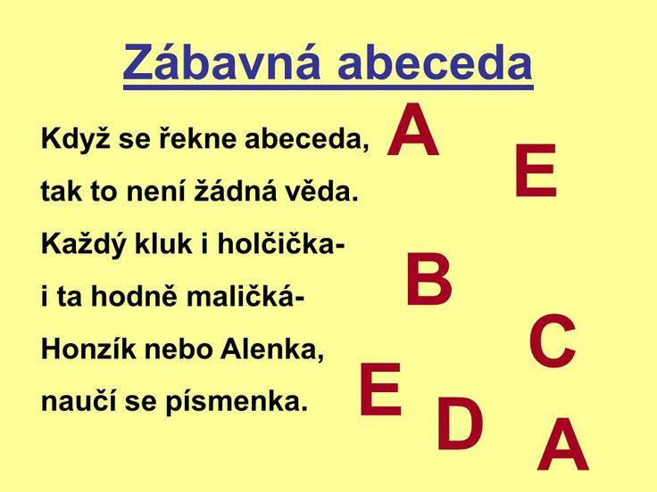 Výsledek obrázku pro hrátky s abecedou