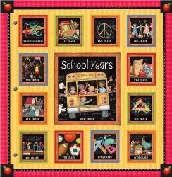 School Years Memory Keeper with Art By Susan Winget