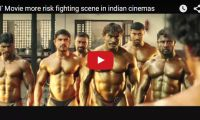 "'I' the Movie more risk fighting scene in indian cinemas So that's what a fight scene with a bunch of Indian muscle guys look like. ""I"" is a 2015 Indian Tamil romantic thriller film which tells the story of a body builder turned super model..."