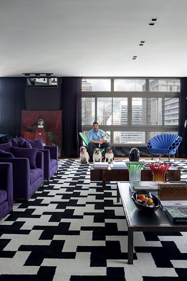 Apê de 490 m² no topo da Avenida Paulista tem vista panorâmica