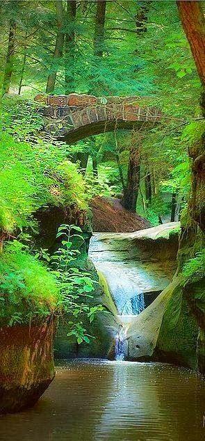 Old Man's Cave Gorge - Logan, Ohio