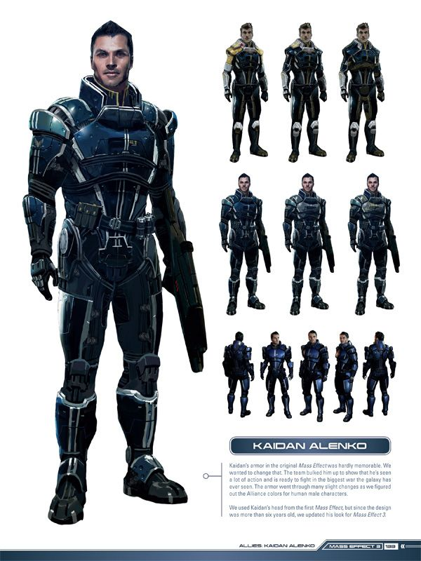Exclusive Look! Mass Effect 3 Character Design