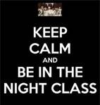 keep calm and.. anime - night class obviously   vampire knight