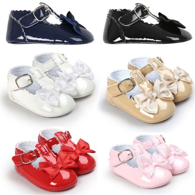 2017 Novo 6 Corlors Meninas Do Bebê Da Princesa Sapatos de Bebê Recém-nascido Soft Sola de Couro PU Primeiros Caminhantes Bebe Criança Sapatos Sapatos Bebe