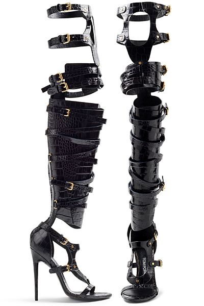 Bottes-Sandales Tom Ford Printemps-été 2013 / Tom Ford Boots-Sandals SS2013