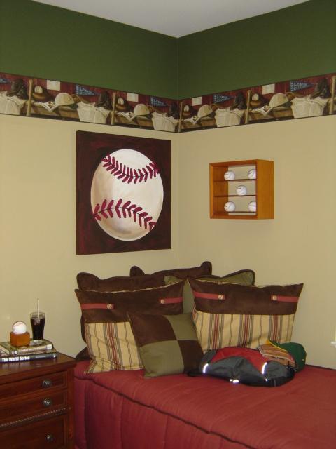21 Best Baseball Bedroom Images On Pinterest