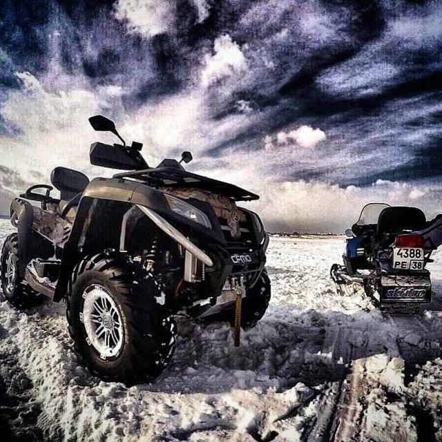 """Фото от @klk_atv_club  #kvadromania #quad #atv #utv #yamaha #cectek #brp #canam #honda #kawasaki #suzuki #arcticcat #polaris #cf #stels #ride #offroad…"""