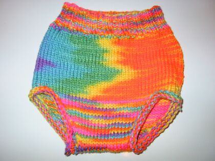 Free Knitting Patterns For Baby Diaper Covers : Knitting soakers for cloth diapers :: Diaper Pages - Karens Cloth Diaper...
