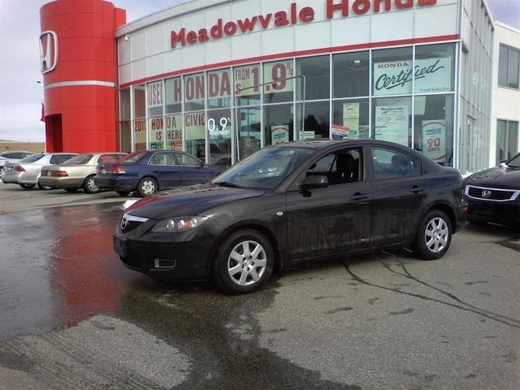 2008 Mazda 3 (Black)