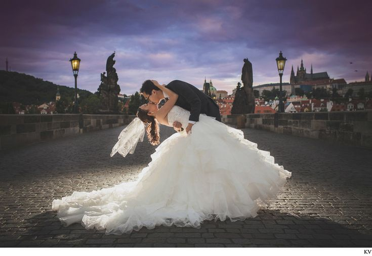 Rose & Alpha traveled over from Hong Kong to have a truly stunning pre-wedding portrait session in Prague. This is an award-winning image from their collection.