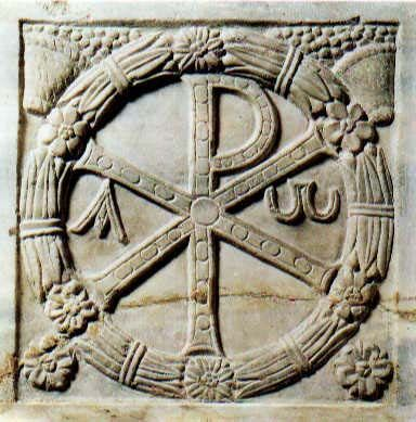 CHI-RHO (or XP) Sign of Constantine, also called the Labarum