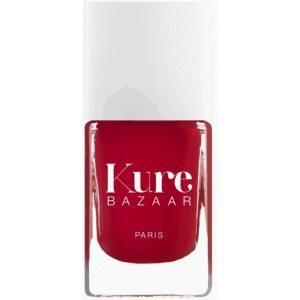 Kure Bazaar hypo-allergene rode nagellak Stiletto: glimmend, sneldrogend en lang houdend. Op www.shopwiki.nl #schoonheid #make-up