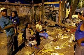 Mientras todos los pueden ayudar, muy pocos lo hacen, y no todos saben en las condiciones que viven.