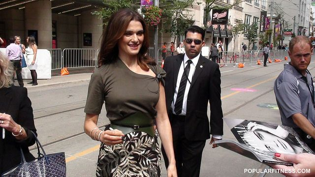 Close-up of Rachel Weisz at TIFF. Watch video here: http://youtu.be/kJZJi-h0WCo