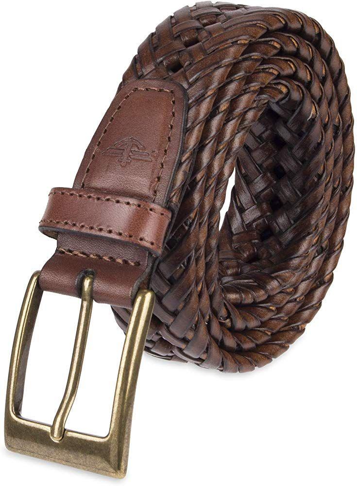 Dockers Men/'s Leather Dress Belt