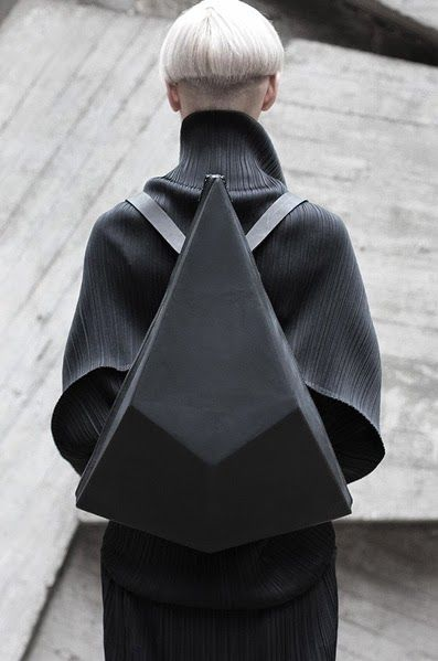 Geometric Backpack - innovative fashion design // Konstantin Kofta