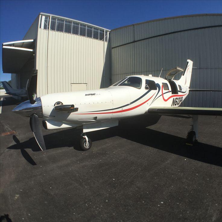 Piper PA-46-360P Malibu Mirage with JetProp DLX conversion.