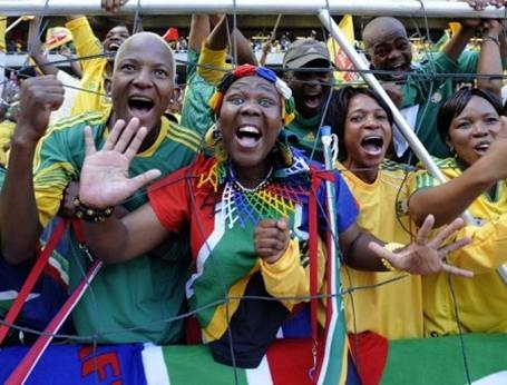 Our Soccer fans are passionate. Sports in SA unites