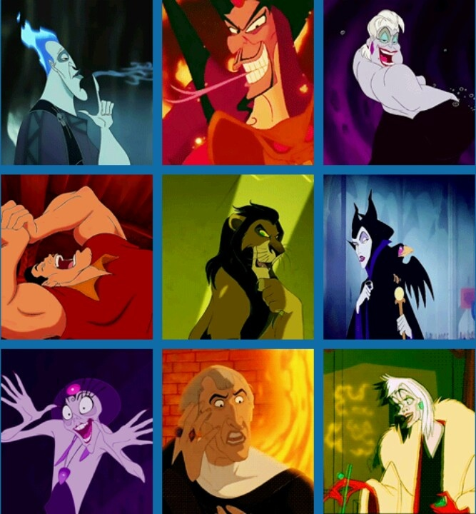 how to know disney villans