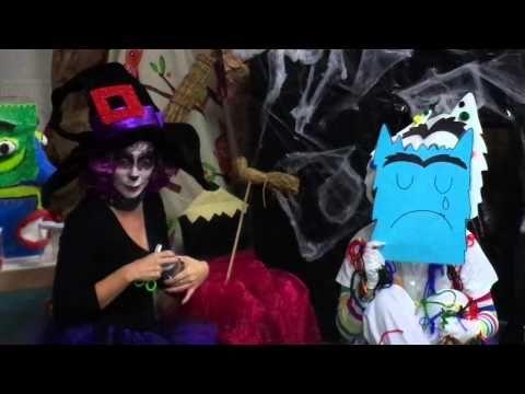 El Monstre de Colors - Taller d'Animació al Conte - YouTube