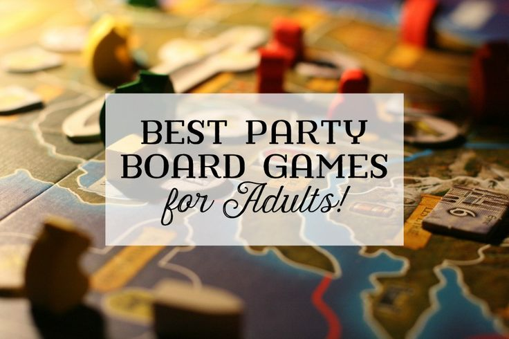 I love throwing parties and inviting guests over to play games. Here are a few of my favorite adult party board games that are easy-to-learn and fun.