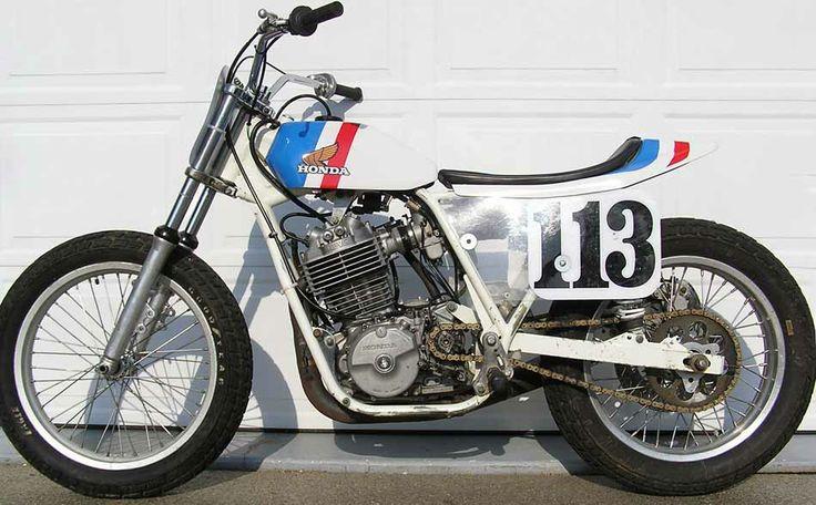 Honda Flat Tracker   Flat Track Bikes Parts For Sale Trade Wanted Honda Rs600