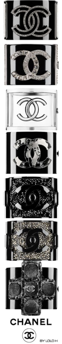 ~Chanel Cuffs | House of Beccaria#