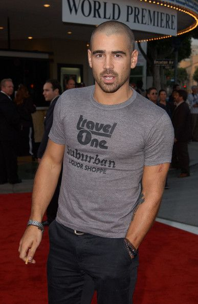 """Colin Farrell Style   Colin Farrell - Premiere of """"The Sum of All Fears"""""""