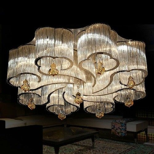 Luxury Bright Crystal Chandeliers Modern Ceiling Lamps Lighting