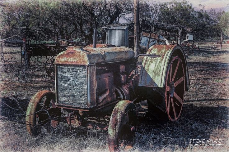 Google+ Fordson Tractor near Wilmington South Australia