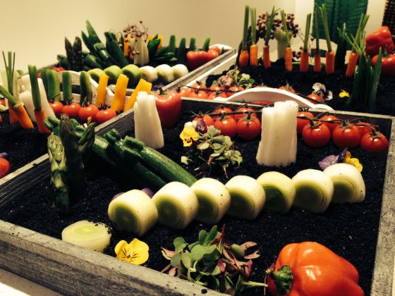 #lechefcatering huerto comestible