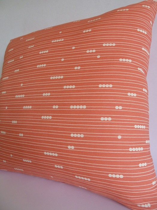 Coral Bespokes Cushion Cover