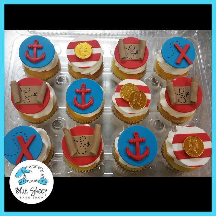 12 Pirate Cupcakes
