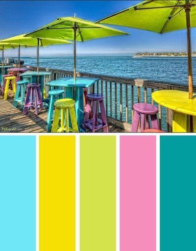 61 best images about florida color palette on pinterest for Florida exterior paint colors