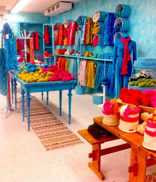 Amazing yarn shop