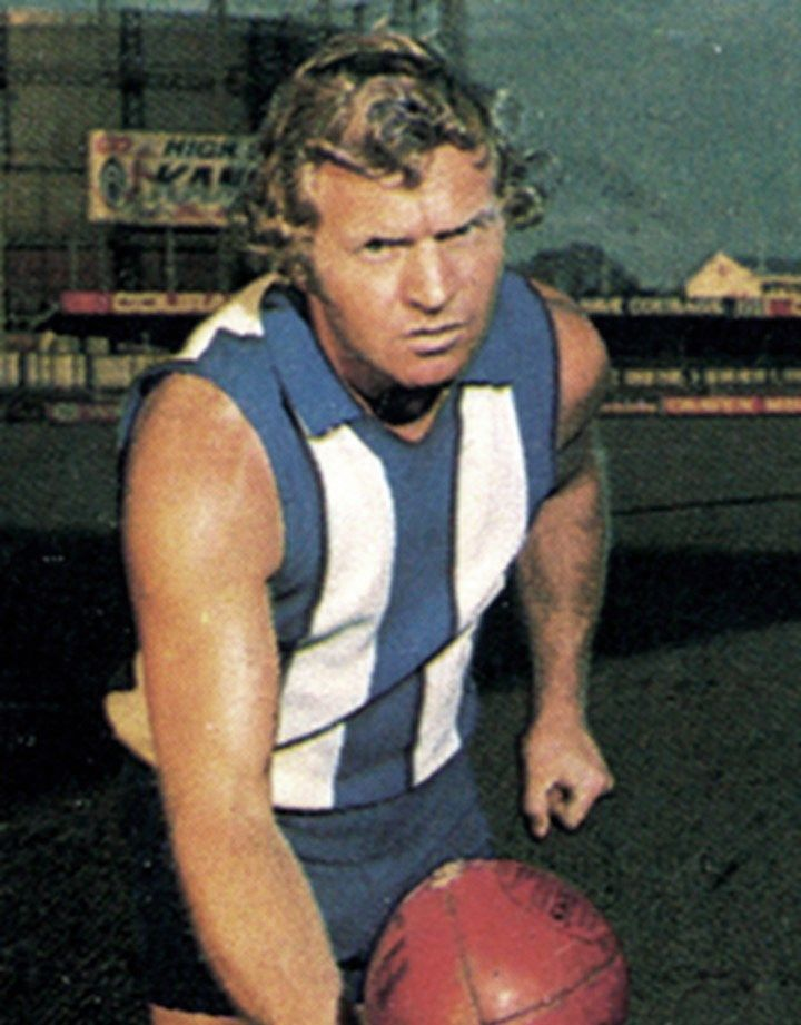 Legend - Barry Cable (Perth, North Melbourne, East Perth). Games – 382 Per 225, NM 115, EP 42. A damaging rover by both foot and hand, his agility and endurance enabled him to play at the top level in both Western Australia and Victoria, despite his small stature.